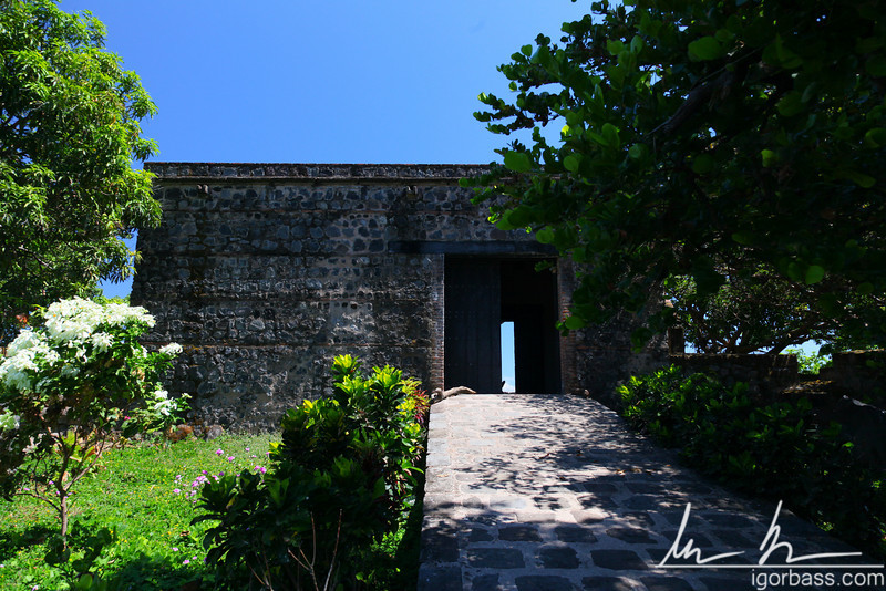 The fort of San Pablo built to protect the city from Pirates in the 18th century, Isletas de Granada