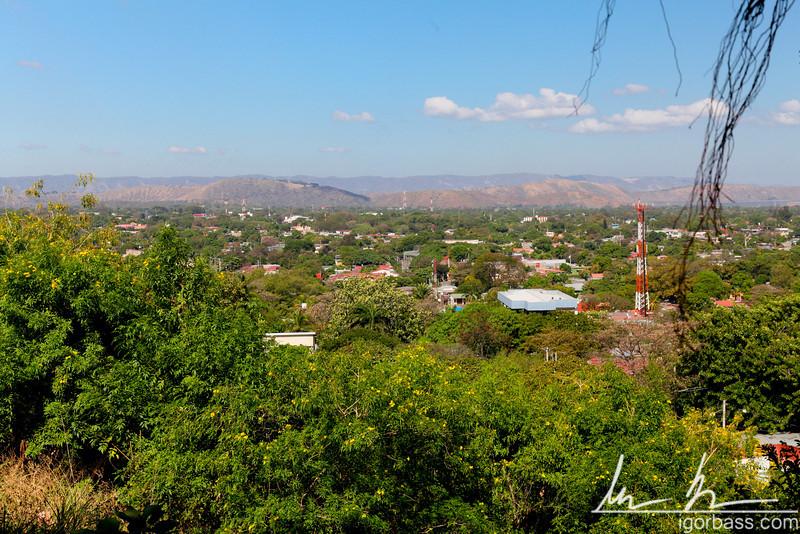 View of the city of Managua from Parque Histórico Nacional Loma de Tiscapa
