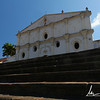 The 17th century San Francisco Convent/Museum and Cathedral in Granada. This is is the oldest standing church facade in Nicaragua.