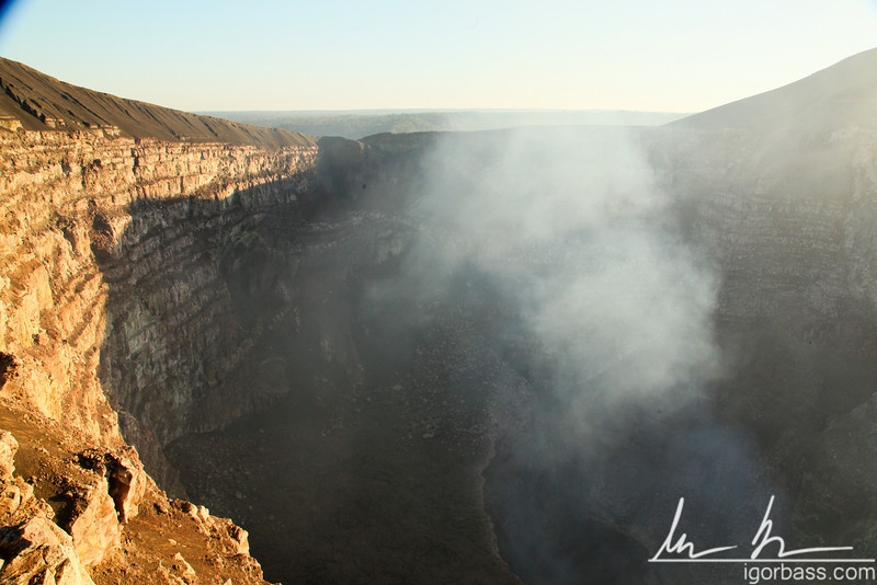 """La Boca del Infierno"" or ""The Mouth of Hell"" Masaya volcanic crater, Masaya Volcano National Park"