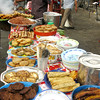 Food stand of yummy fried stuff. The taquitos were a highlight.