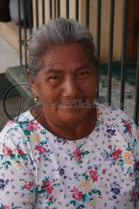 A local lady with kind eyes! Masaya, Nicaragua
