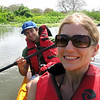 Hello tandem kayak! Actually they didn't give us a choice--about the kayak or the life vests.