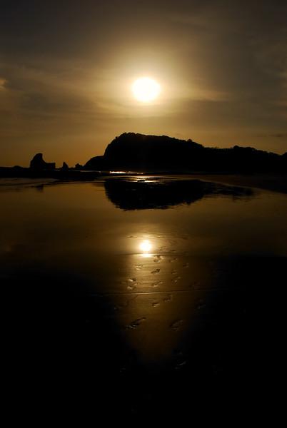Sunset, Playa Maderas