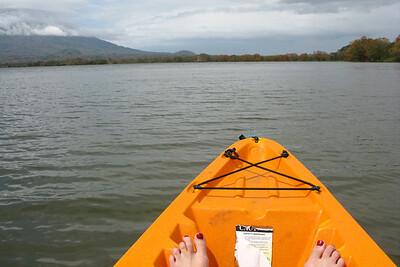 Kayaking Lago Nicaragua