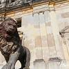 Guard lion, Cathedral of Leon