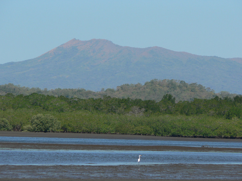 This is Volcan Cosigüina, to the north.  The one we could not get to.