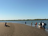 Then, arrived to this very calm and protected beach with great swimming, and another nice (and muddy) mangrove walk.