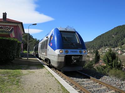 SNCR Ter Bombardier dieseltrein
