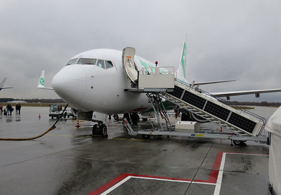 Transavia PH-XRV, 2.070 liter/uur, 85 minuten
