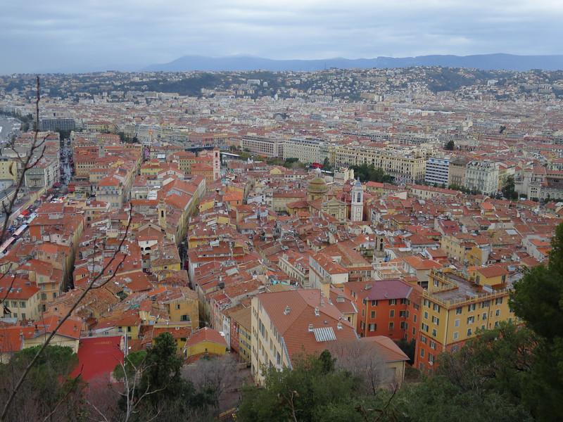 Oude italiaanse binnenstad