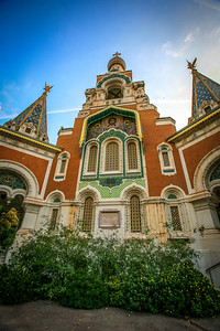 Cathedral St. Nicolas consecrated in 1875, and is on the site of the first parish church in Monaco built in 1252 and dedicated to St. Nicholas.