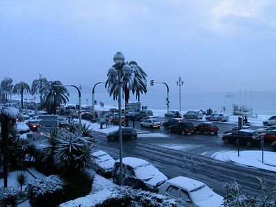 Nice snowstorm 22nd Feb 2005