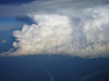 BIG thunderstorm over the central African jungle!