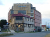 "Our Swedish cubist / minimalist hotel ""Indigo"" in Puerto Natales, adjacent to the harbour"