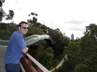The Treetop walkway in Perth.