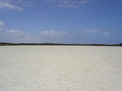 A salt pan