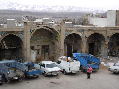 An ancient caravanserai from the Silk Road days.