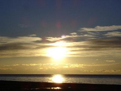 Sunrise over Issyk Kul