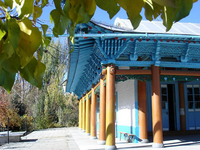 The Chinese Mosque in Karakol