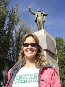 Lenin, now on a back street