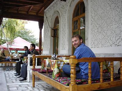 Cool shashlik restaurant