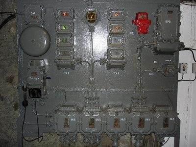 Communist era lift controls