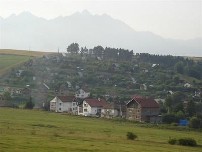 Little garden houses, like Slovak allotments