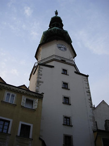 The old town in Bratislava is lovely.