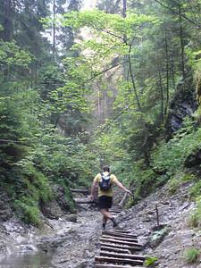 The hairy route up Sucha Bela in the Slovenski Raj (Slovak Paradise). www.stopa-sts.sk/item/slovak-paradise-national-park-sucha-bela