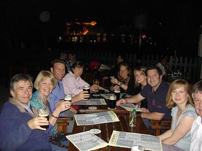 G5 and G6 team dinner