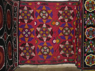 Uzbek rug designs