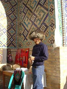 Uzbek wooly hats