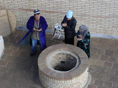 Wise wishers at the well