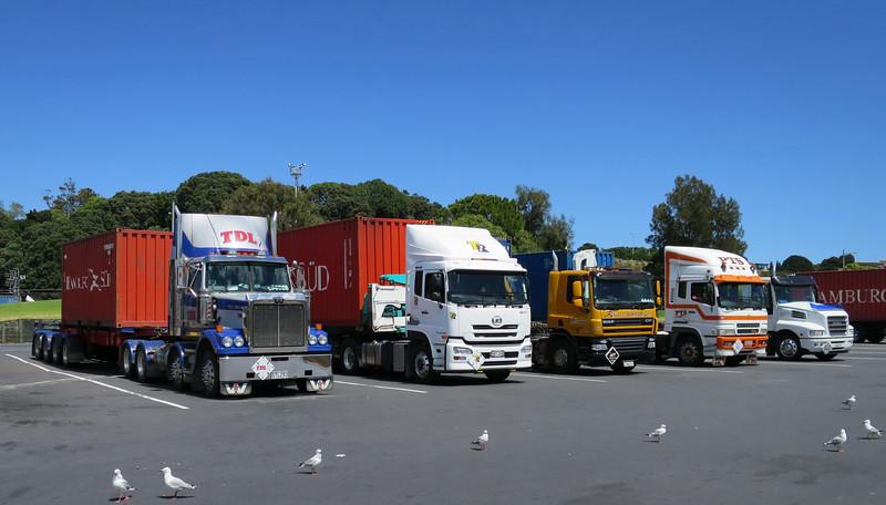 UD Trucks (Volvo) - Western Star en Misubishi (Daimler)  - DAF - Iveco