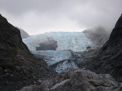 Wandelen naar Franz Josef gletsjer