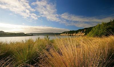 Rakaia Gorge. Zuidereiland, Nieuw-Zeeland.