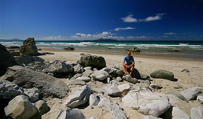 Mangawhai Beach, Northland. Noordereiland, Nieuw-Zeeland.