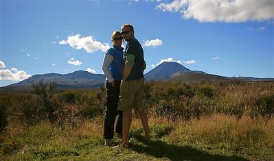 Tongariro National Park. Noordereiland, Nieuw-Zeeland.