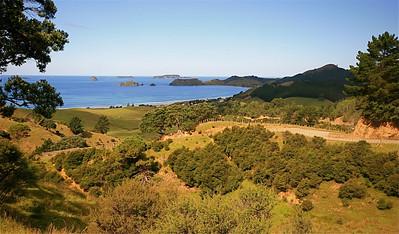 Black Jack State Reserve, Coromandel Peninsula. Noordereiland, Nieuw-Zeeland.
