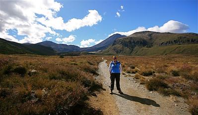 Mt Ngauruhoe (Mount Doom), Tongariro National Park. Noordereiland, Nieuw-Zeeland.