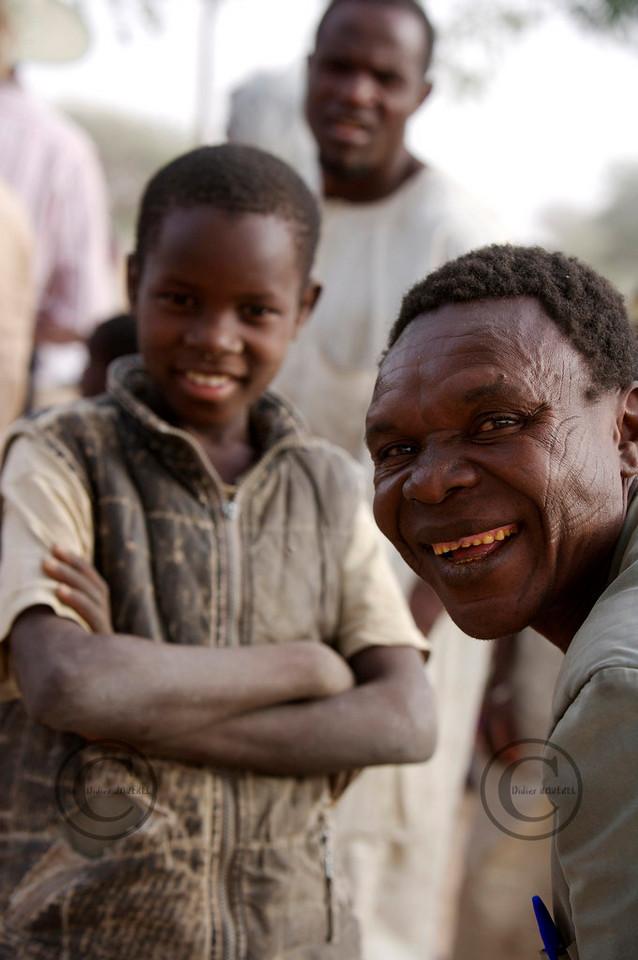 Maradi NIGER le 30/01/2007Operation UNICEF Volvic au Niger ©Didier Baverel
