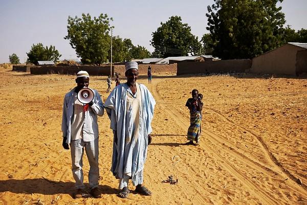 Village head & Town Crier (Kebbi, Nigeria)