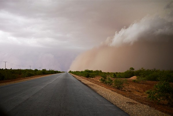 Crossing (Sandstorm, Kebbi, Nigeria)
