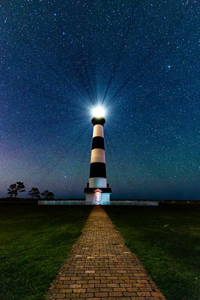 Bode Island Light House Nags Head, NC