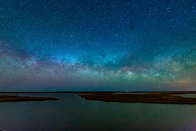 Milky Way Rising over Nags Head, NC