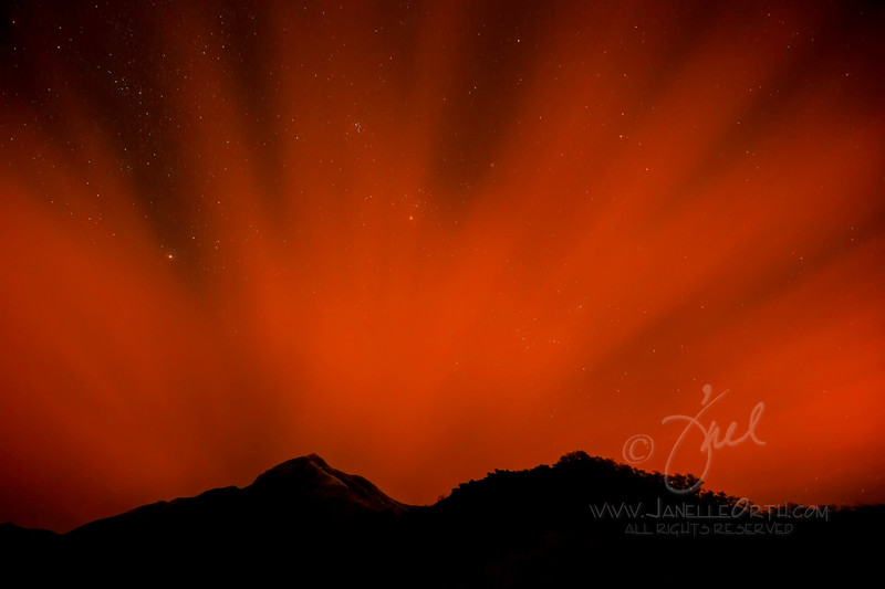 Fire Cloud ©2014 Janelle Orth