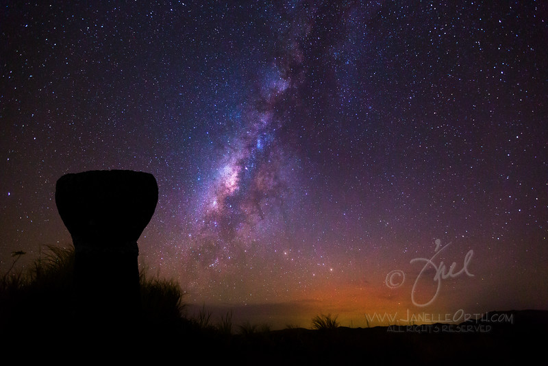 Latte Stone Milky Way  ©2015  Janelle Orth