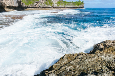 Niue, South Pacific tropical island.