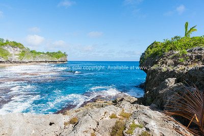 Scenic outlook Opaahi bay on Niue